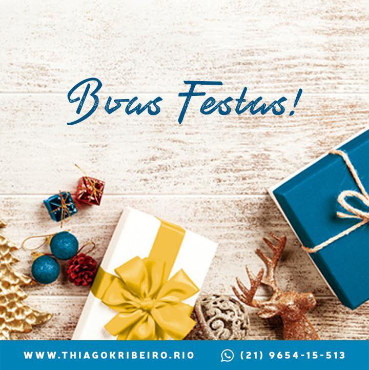Vereador Thiago K. Ribeiro deseja boas festas!