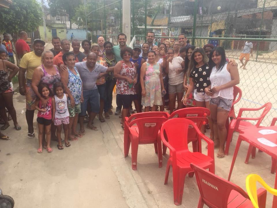 Thiago K. Ribeiro na Barreira do Vasco
