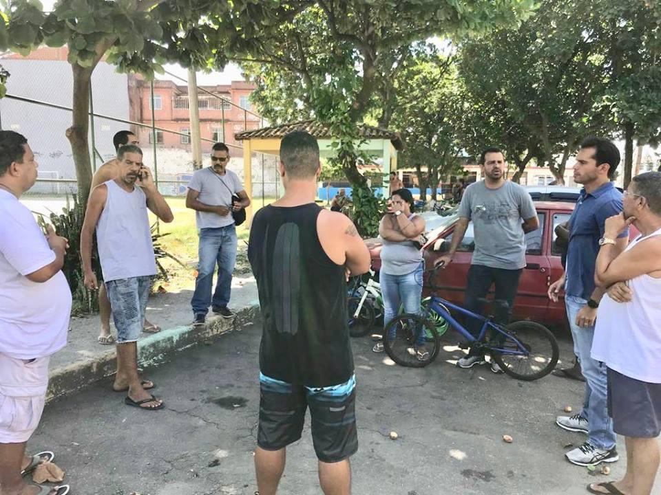 Vereador Thiago K. Ribeiro acompanha instalação dos equipamentos da ATI - Jardim América