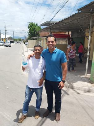 Thiago K. Ribeiro visita o Dique e Furquim Mendes com obras do Morar Carioca em fase final