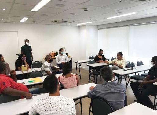 Vereador Thiago K. Ribeiro se reúne com lideranças e moradores do Santo Cristo