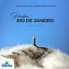 Rio comemora 456 anos