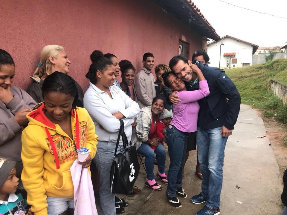 Voltamos ao Jesuítas, em Santa Cruz, para anunciar aos moradores que todos serão incluídos de imediato no programa Aluguel Social