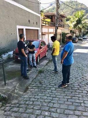 Visitas do Vereador Thiago K. Ribeiro na Comunidade Rio das Pedras