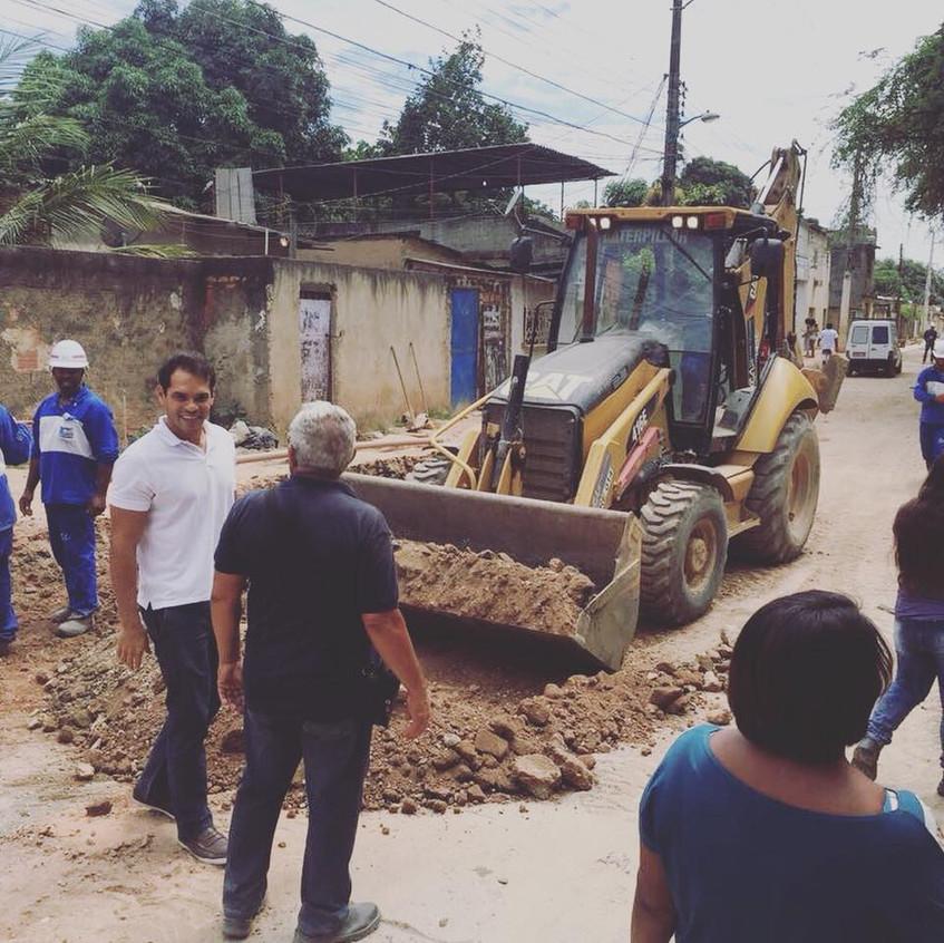 Obras Morar Carioca Dique e Furquim Mendes
