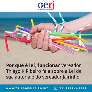 Por que é lei, funciona? Vereador Thiago K. Ribeiro fala sobre a Lei de sua autoria