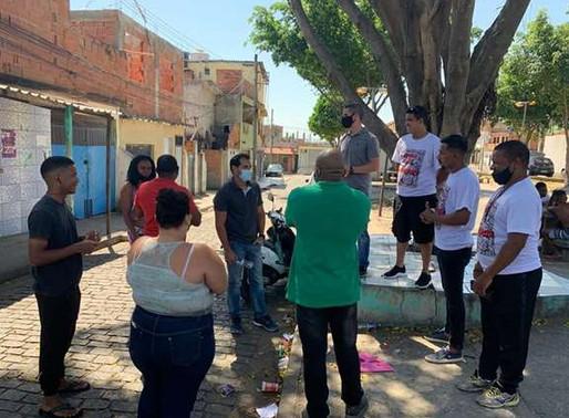 Vereador Thiago K. Ribeiro tem dia de hoje muito produtivo em Jacarepaguá