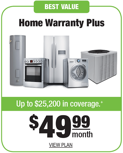 NextEra Home Warranty Plus. Up to $25,200 in coverage. $49.99 a month. View plan.