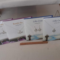 Silver Studio Earrings and Necklaces.