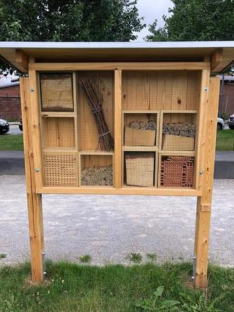 unser elbzwerge Insektenhotel