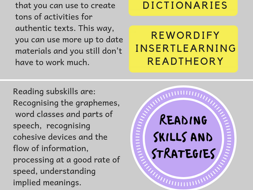 Teaching Reading Skills with ICT