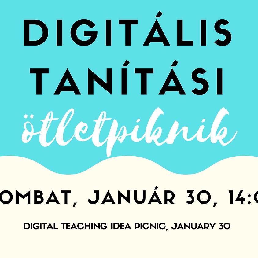 Digitális Tanítási Ötletpiknik - Január