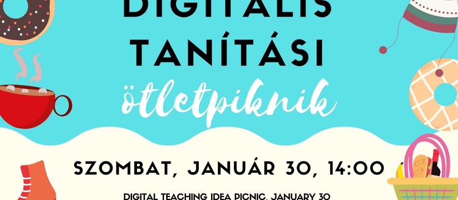 Januári Digitális Ötletpiknik Összefoglaló (EN/HU)