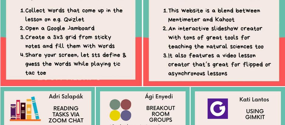 Digital Teaching Idea Picnic December Summary