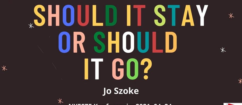 Should it Stay or Should it Go? (NYESZE 2021 workshop)