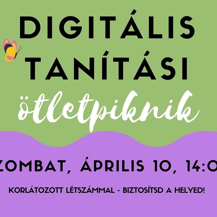 Digitális Tanítási Ötletpiknik Április