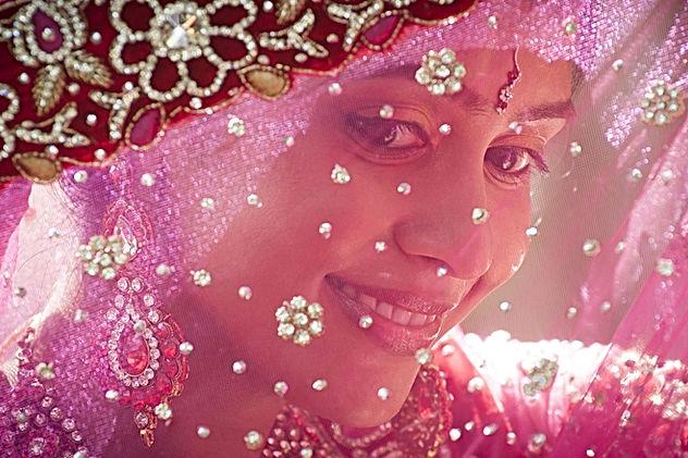 Happy Indian Bride