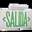 Thumbnail: Aplique de Emergencia Stil Led Aviso de Salida 2W