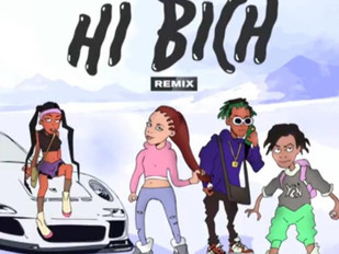 Bhad Bhabie - Hi Bich Remix Featuring Asian Doll, Rich The Kid And YBN Nahmir
