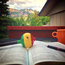 blessed morning in Colorado