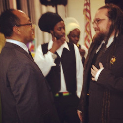 Meeting HIH Ermias Sahle Selassie