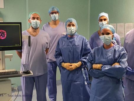 UROLOGIE - Première démonstration Française du système de biopsie en fusion d'image Uronav