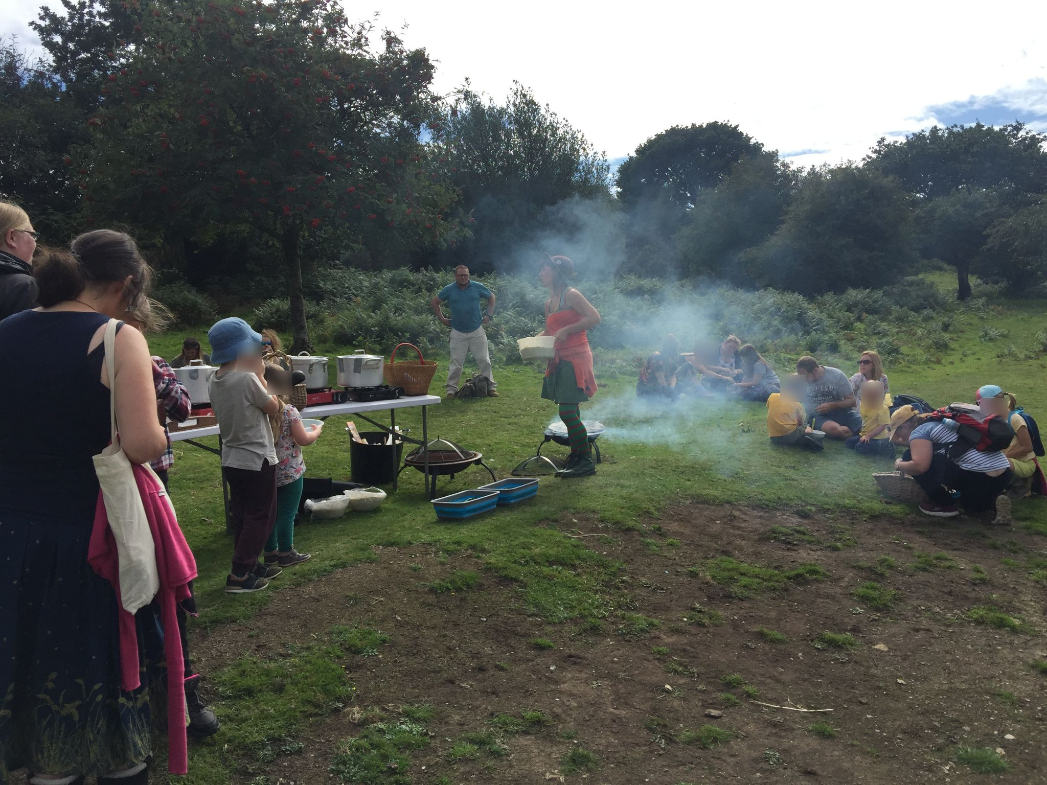 Forage and Fire September 2018