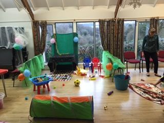 Children's Christmas Party 2015 at Clearbrook Village Hall