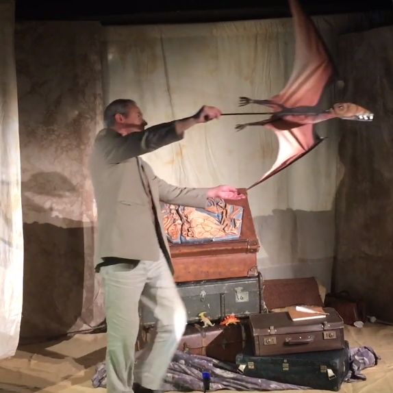 Dinosaur Detectives by Clydebuilt Puppet Theatre