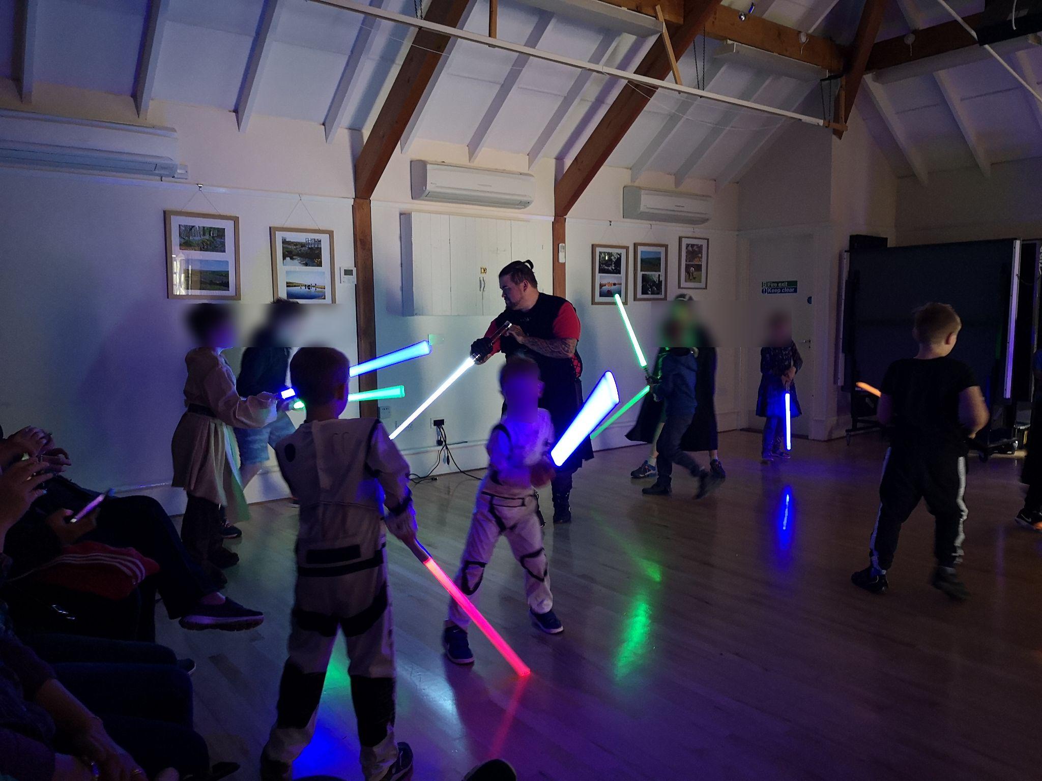 Light Saber Battle School May 2019