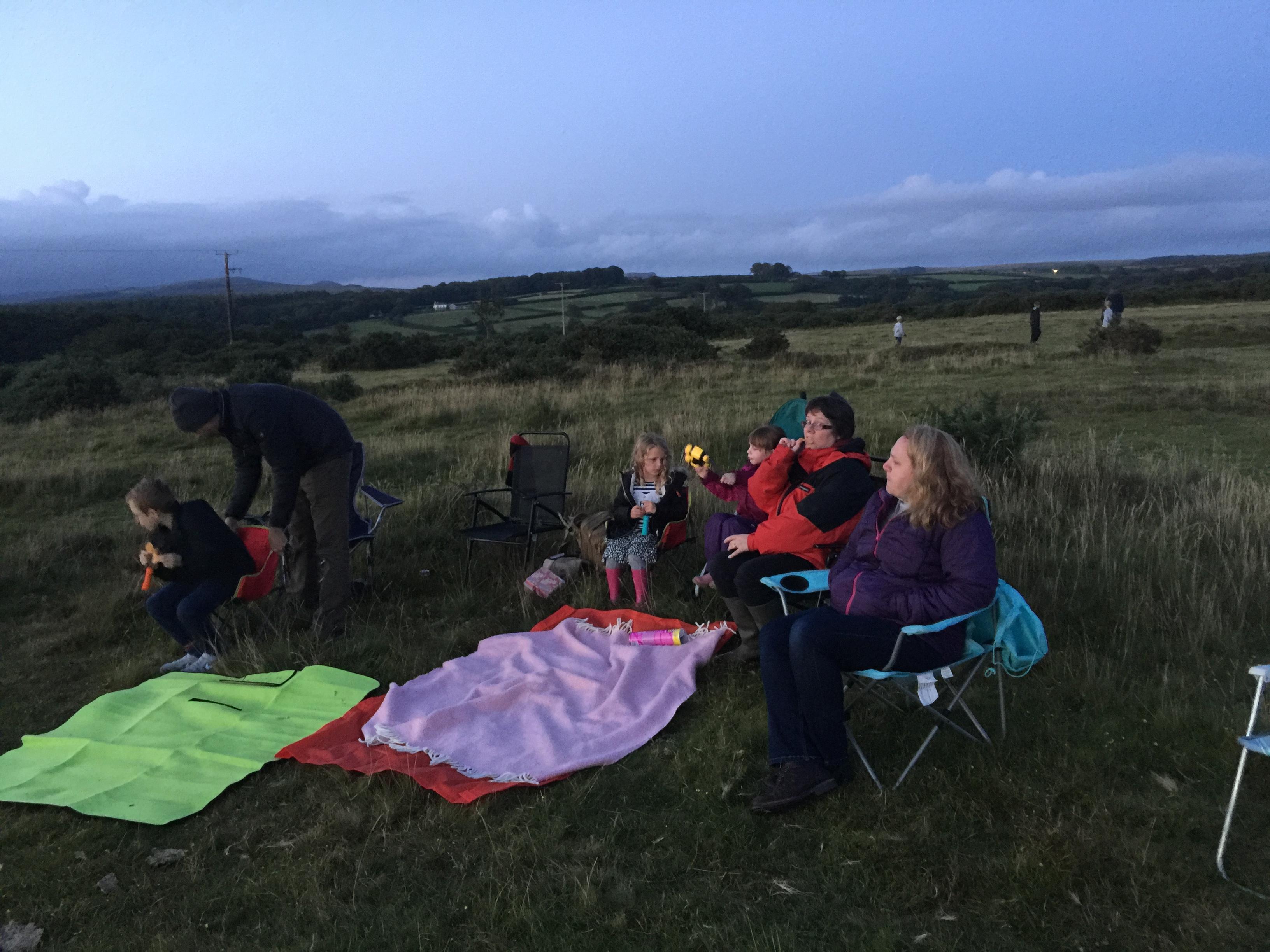 Star Gazing August 2017
