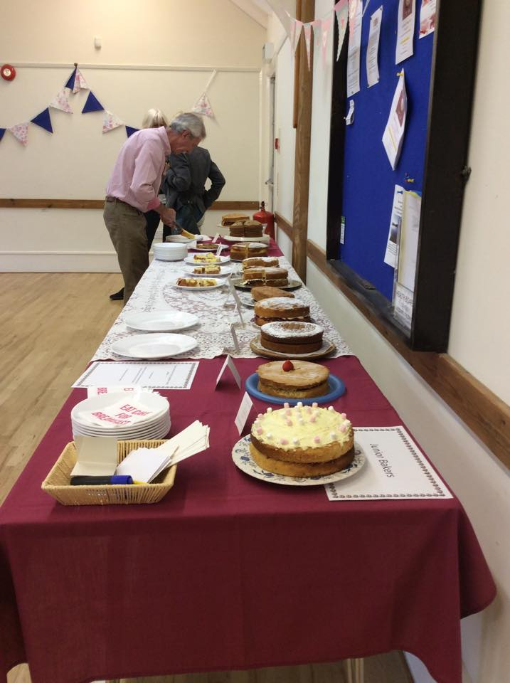 Clearbrook Village Hall Bake Off