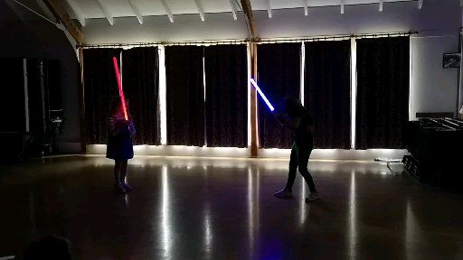 Light Saber Battle School May 2019