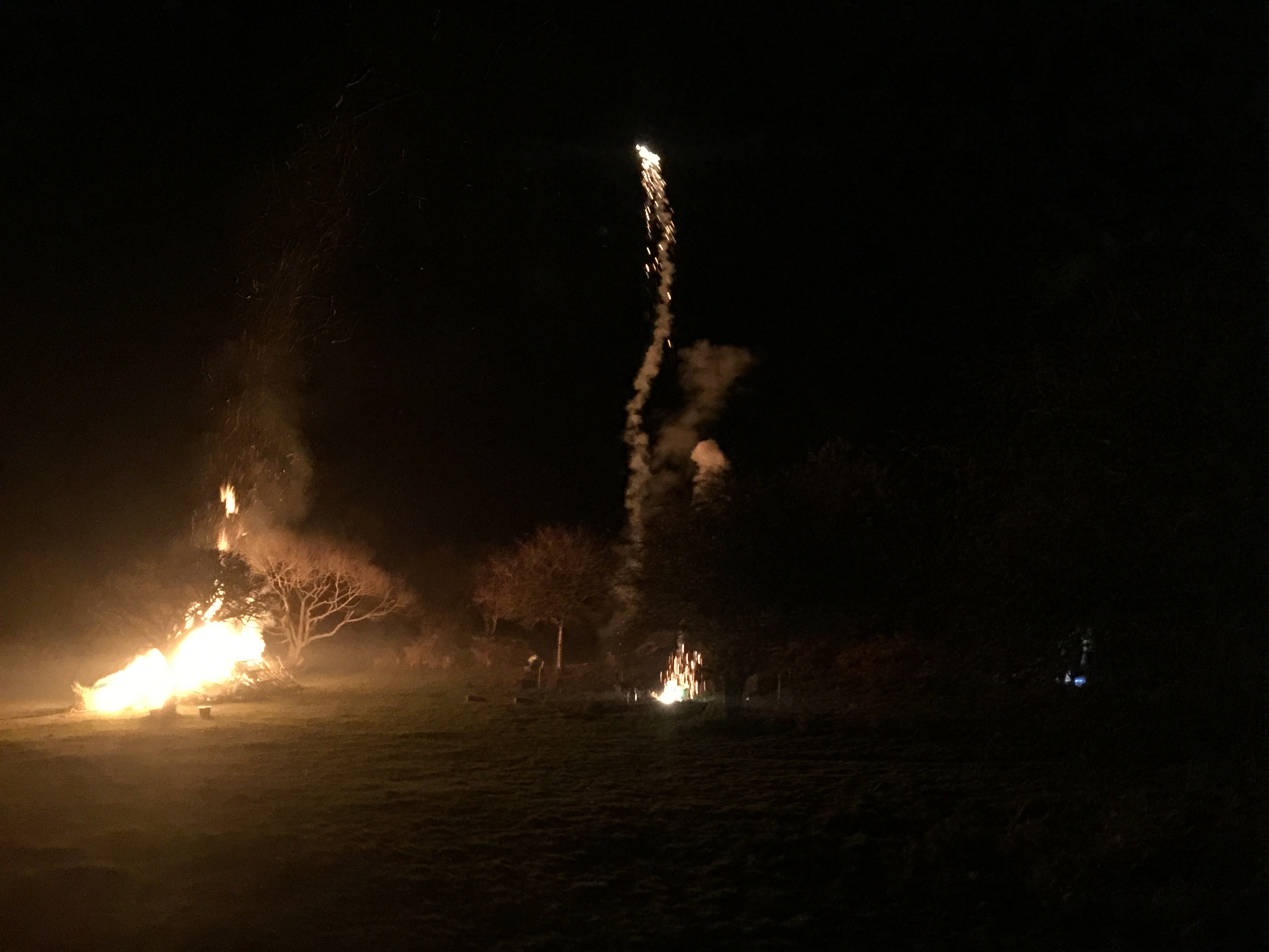 Fireworks at Clearbrook Village Hall