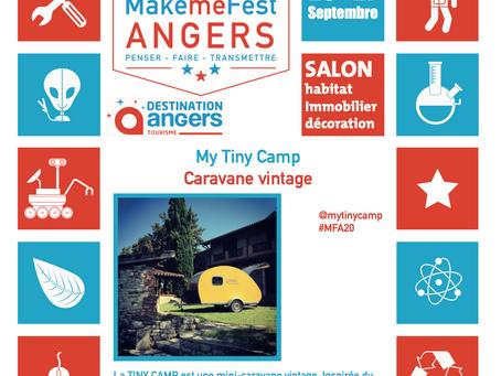Retrouvez nous au salon MakemeFest à Angers