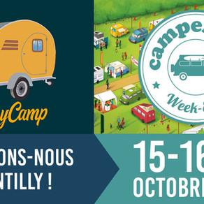 "Visitez la Tiny Camp au ""Camper van Week-end"""