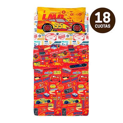 Juego de Sábanas Piñata Cars 1/2 Plaza