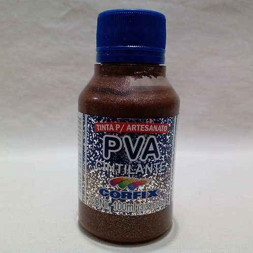 Tinta PVA Cintilante Chocolate 100 ml