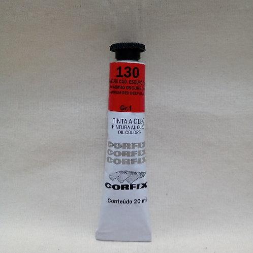 Tinta a Óleo Vermelho Cadmio Escuro 20 ml