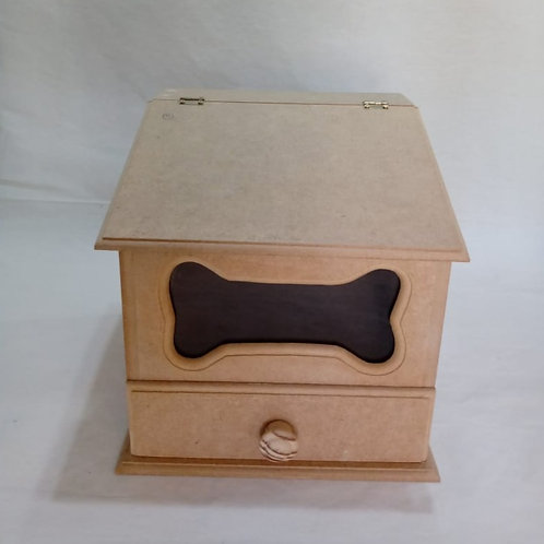 Caixa de Remédios ou Ração para Cães
