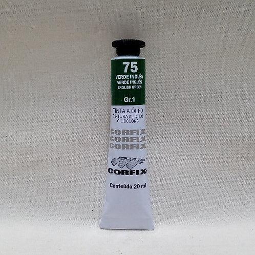 Tinta a Óleo Verde Inglês 20 ml