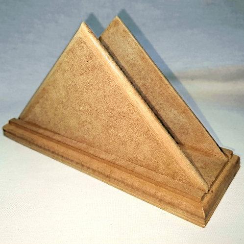 Porta Guardanapos Triangulo em Mdf