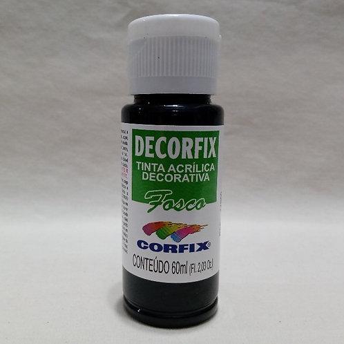 Tinta Acrílica Fosca Preto 60 ml