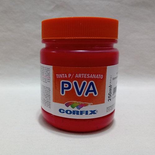 Tinta PVA Vermelho Escarlate 250 ml
