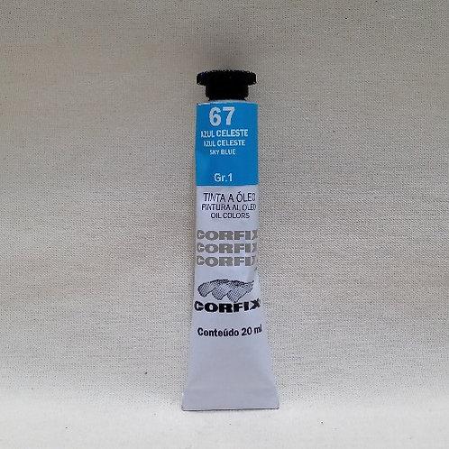 Tinta a Óleo Azul Celeste 20 ml