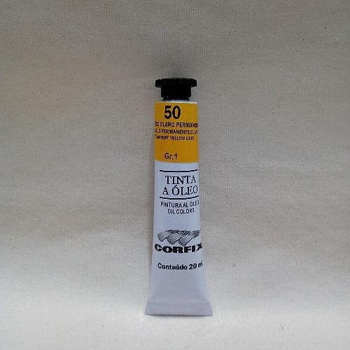 Tinta a Óleo Amarelo Claro Permanente 20 ml