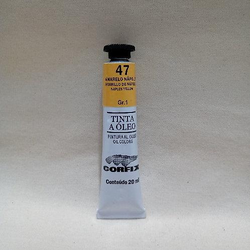 Tinta a Óleo Amarelo Nápoles 20 ml