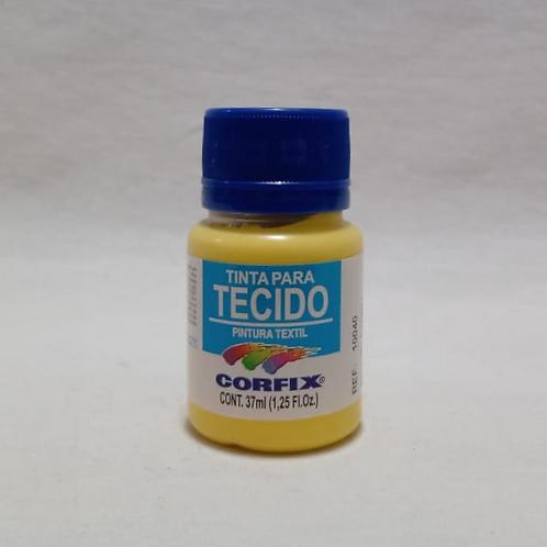 Tinta para Tecido Amarelo Canário 37 ml