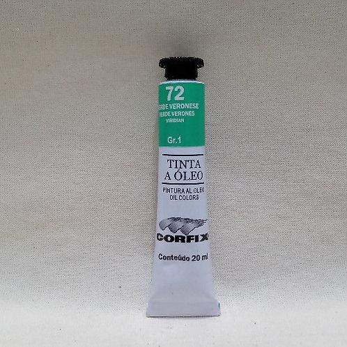 Tinta a Óleo Verde Veronese 20 ml