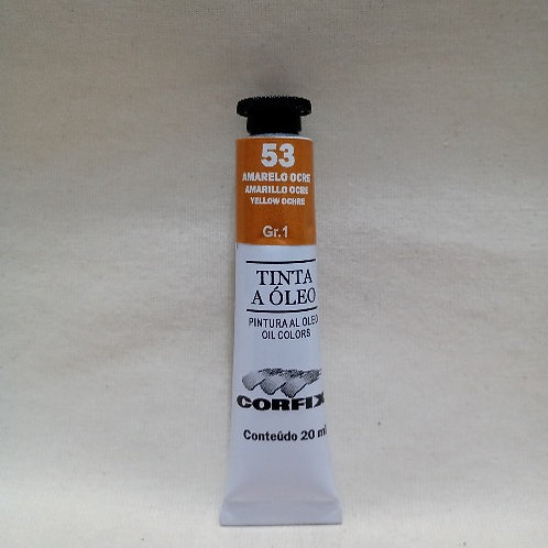 Tinta a Óleo Amarelo Ocre 20 ml